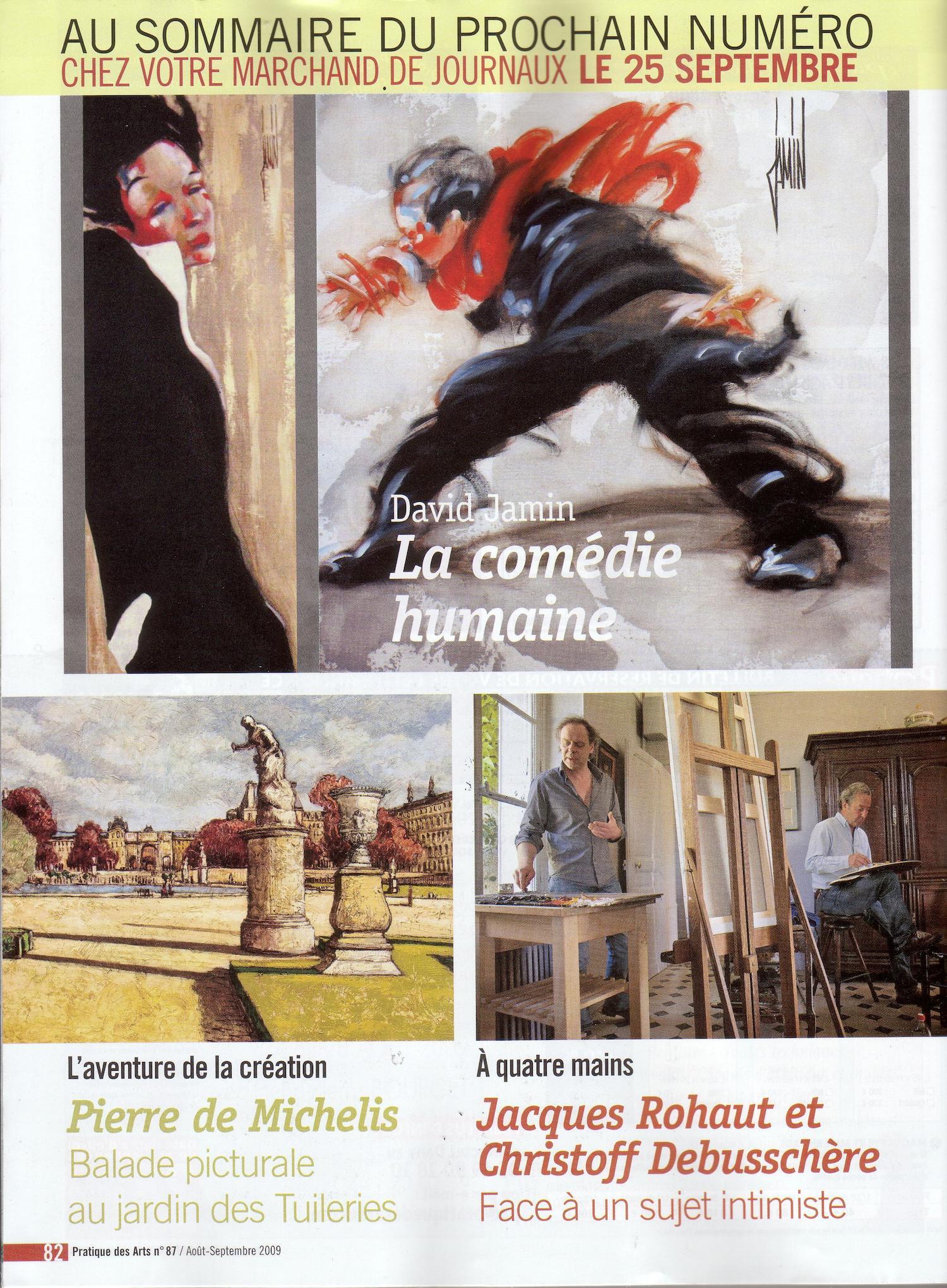 Pratique des Arts - Juillet-Août 2009 -