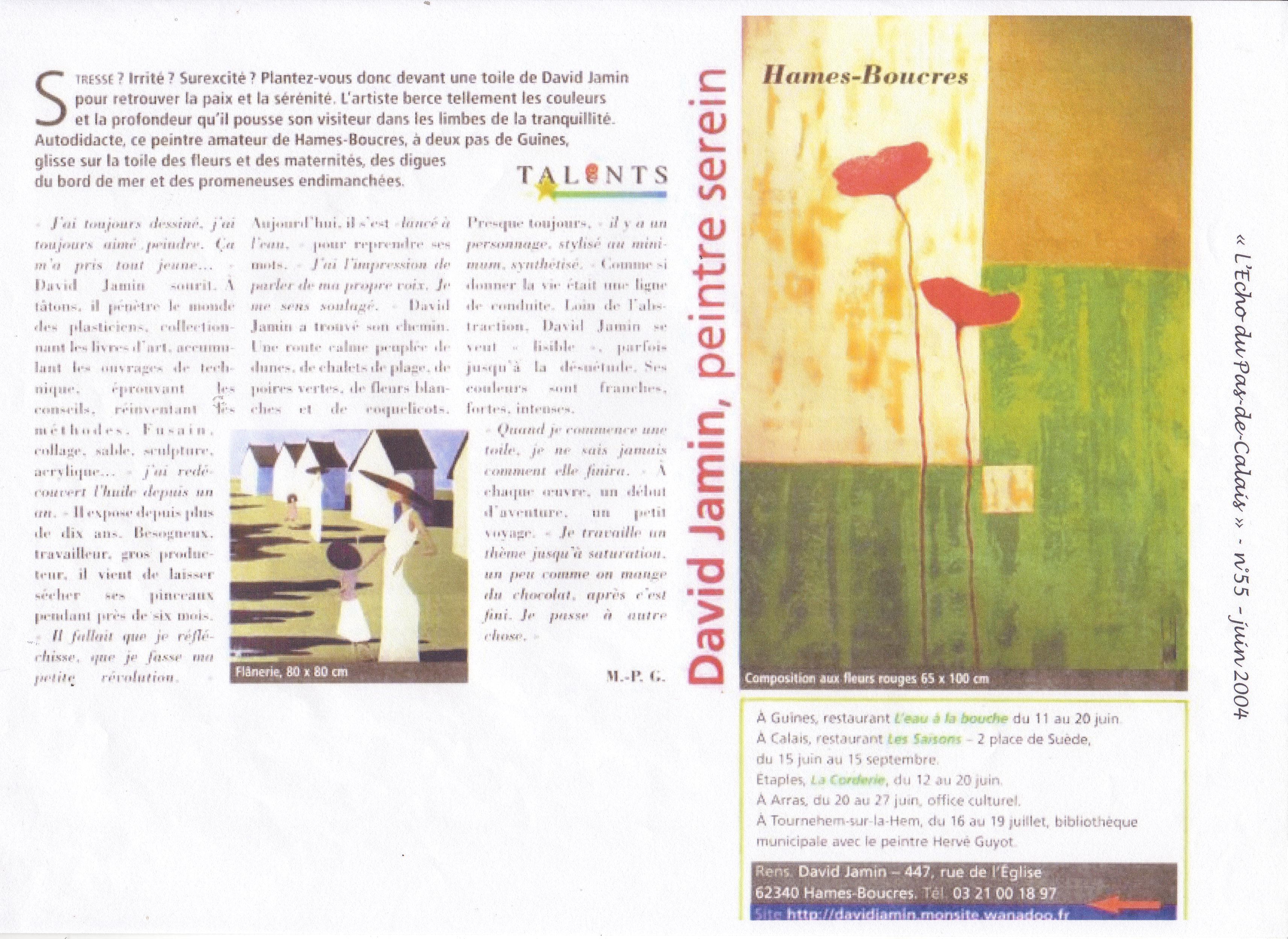 L'Echo du Pas-de-Calais - 2004 -