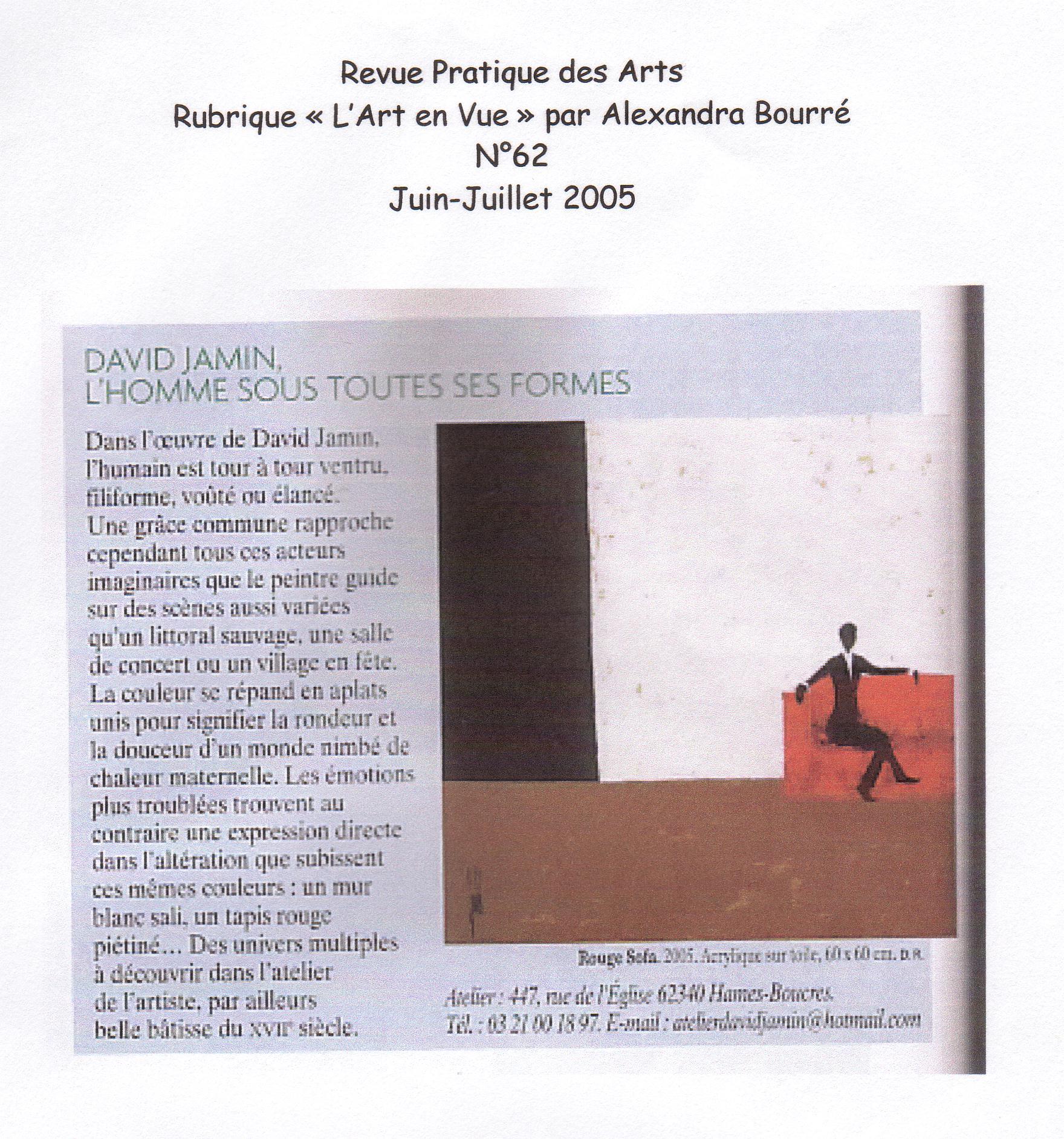 Pratique des Arts - 2005 -
