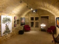 1ère salle atelier galerie Uzès