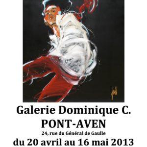 Affiche Pont-Aven 2013